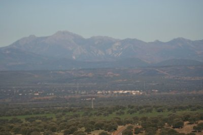 Vista de Almansa desde Castilblanco