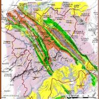 Mapa del Geoparque Villuercas Ibores Jara