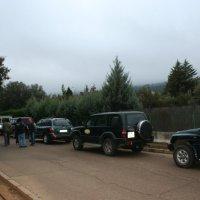 20071208 Ruta al Mirador de la Berrea en la Reserva de Cijara con Circaetus. Siberia de Extremadura