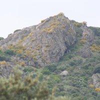 20080508 Descubro Pinturas Rupestres en las Cuevas del Risco Chamorro de Herrera del Duque. Siberia de Extremadura