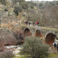 20110130 Ruta al Molino del Puente del Pedroso en Villar del Pedroso. Villuercas Ibores Jara. Extremadura
