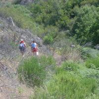 20020810 Ruta al Charco de la Mora de Cañamero. Villuercas, Ibores y Jara. Extremadura