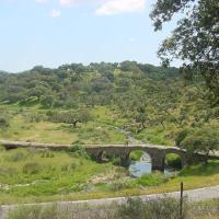 20030517 Romería de San Isidro, Puente Romano de las Mohedas. Berzocana en las Villuercas. Extremadura