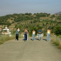 20040702 Ruta a los restos del Castillo de Cañamero. Extremadura. Fotos Jaime Cerezo. Villuercas