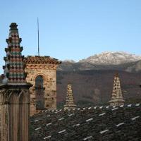 20100219 Nieve en la Villuerca desde el Monasterio de Guadalupe en Extremadura