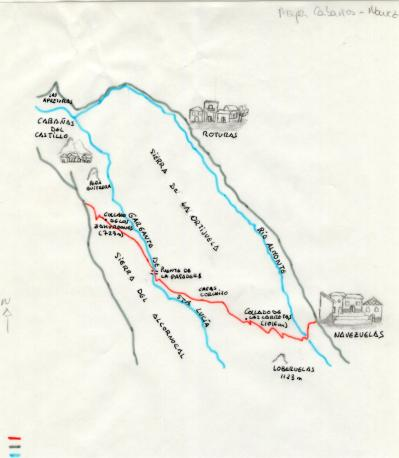mapa cabañas- nave