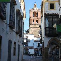Colegiata de la Candelaria en Zafra. Sierra de Caballeros y Feria. Extremadura