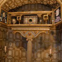 20090715 Reliquias de San Fulgencio y Santa Florentina. Iglesia de San Juan Bautista de Berzocana. Villuercas Ibores Jara. Extremadura