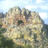 20000520 Ruta al Estrecho de la Peña Amarilla en Alía. Geositio del Geoparque Villuercas Ibores Jara. Extremadura