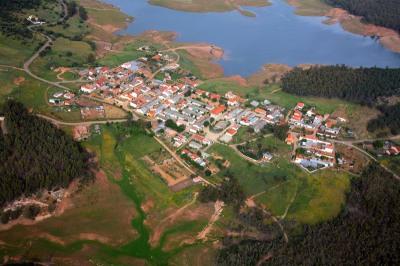 Poblado de Cijara en Alía. Villuercas Ibores Jara. Extremadura