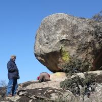 20120212 Ruta a la Cueva Bonita del Canchal en Peraleda de San Román. Villuercas Ibores Jara. Extremadura