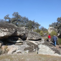 20120212 Ruta a la Cueva Navaluenga en Peraleda de San Román. Villuercas Ibores Jara. Extremadura
