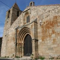 Iglesia de la Vera Cruz en Santa Cruz de la Sierra. Arte Cisterciense en Extremadura