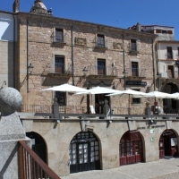 Palacio Chaves Orellana. Plaza Mayor de Trujillo. Extremadura
