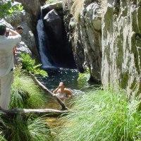 20040728 Ruta al Salto del Moro en Cañamero. Geoparque Villuercas Ibores Jara. Extremadura