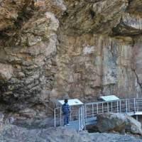 Pinturas Rupestres de la Cueva Chiquita o de Álvarez en Cañamero. Geoparque Villuercas Ibores Jara. Extremadura