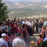 20000912 Fiesta de la Virgen de la Peña en Cabañas del Castillo. Geoparque Villuercas Ibores Jara. Extremadura