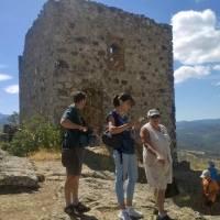 20150816 Ruta del Castillo de Cabañas del Castillo. Geoparque Villuercas Ibores Jara. Extremadura