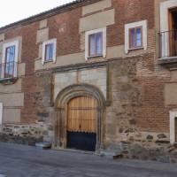 Convento de la Magdalena en Jaraicejo. Pueblos del Parque Nacional de Monfragüe. Extremadura
