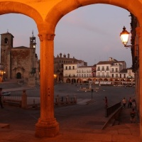 Ruta por el Palacio de Justicia. Ayuntamiento Viejo de Trujillo. Extremadura