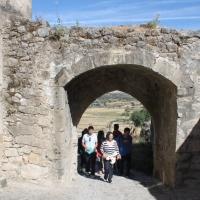 Ruta por la Puerta de Coria. Recinto amurallado de Trujillo. Extremadura