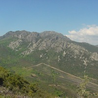 Risco Villuerca en Navezuelas. Cumbres del Geoparque Villuercas Ibores Jara. Extremadura