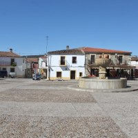 Arquitectura Tradicional de Santa Cruz de la Sierra. Pueblos de la Tierra de Trujillo. Extremadura