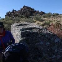 20161113 Ruta al Poblado y Necrópolis de la Edad del Hierro en Risco Chico. Monumento Arqueológico Nacional Sierra de Santa Cruz. Tierras de Trujillo. Extremadura