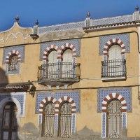 Arquitectura Tradicional en Orellana la Vieja. Pueblos de las Vegas Altas del Guadiana. Extremadura