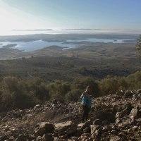 20171223 Ruta al Risco de la Mona de Orellana de la Sierra con la Asoc. Senderismo la Sierra de Orellana la Vieja. Vegas Altas del Guadiana. Extremadura