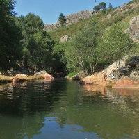 20180619 Ruta a la Piscina Natural Charco de la Nutria en Cañamero. Geoparque Villuercas Ibores Jara. Extremadura