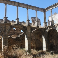 20180813 Ruta por las Ruinas del Convento de San Antonio de Padua en Garrovillas. Tierras de Alconetar de Tajo. Extremadura