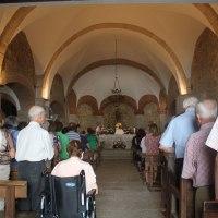 20190815 Ruta Paseo por la Iglesia de San Lorenzo en Conquista de la Sierra. Pueblos de la Tierra de Trujillo. Extremadura