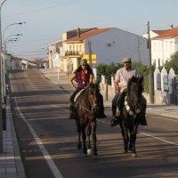 20191011 Ruta de Caballeros Peregrinos a Guadalupe en Zorita. Tierras de Trujillo. Extremadura