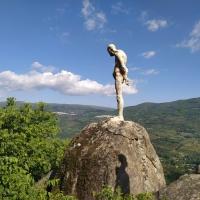 20200516 Ruta al Monumento de los Olvidados de la Guerra en El Torno, Valle del Jerte. Extremadura